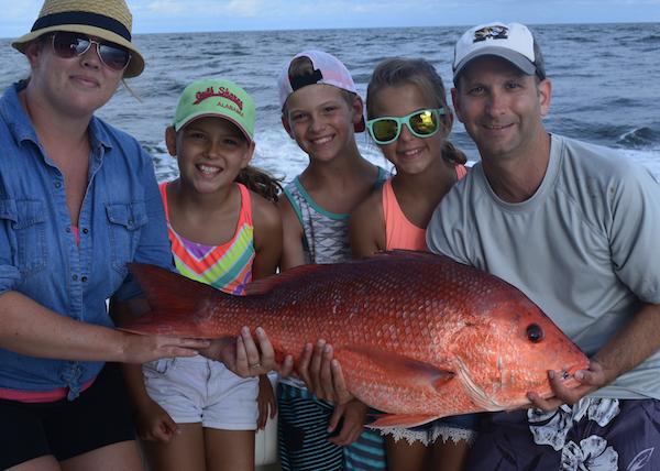 Family Fishing Charters in Orange Beach